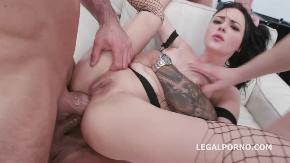 [LegalPorno] Drowned in piss, Insane watersport with Manhandle Balls Deep Anal, DAP, Gapes and Swallow - Kiara Gold (DAP)/(Natural Tits)