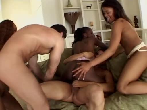 [Jules Jordan] Semen Sippers 4 - Marie Luv, Simone West, Pink (Orgy)/(Natural Tits)