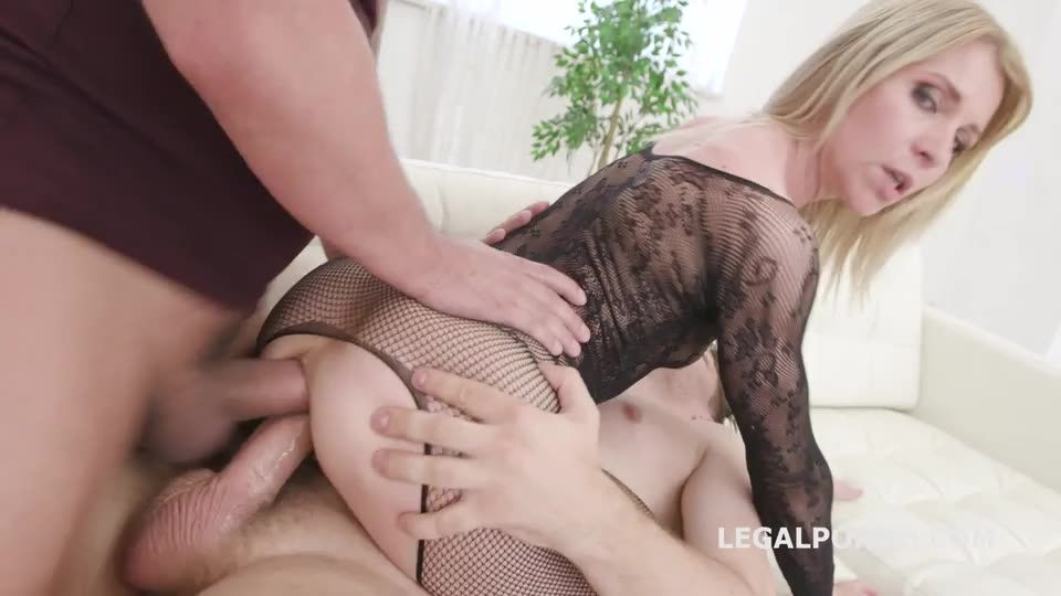 [LegalPorno] Anal Monsters, DAP, TP with Fist, Balls Deep Anal, Creampie - Nicole Black, Sindy Rose (DAP)/(Fisting)