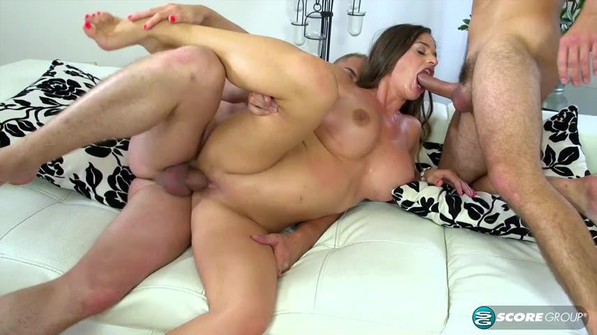 [ScoreLand / PornMegaLoad] Double Penetration Pool Service - Cathy Heaven (DP)/(Brunette)