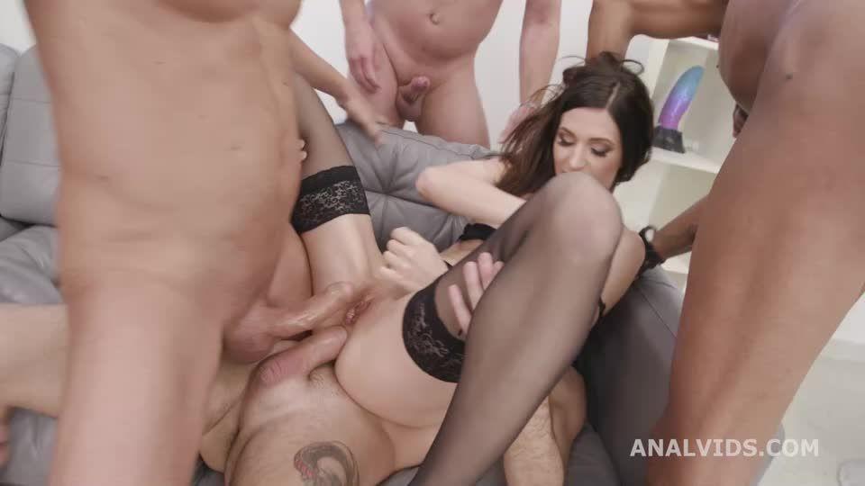 Back with Balls Deep Anal, DAP, Gapes, DP, TP, Swallow and Creampie (LegalPorno / AnalVids) Screenshot 2