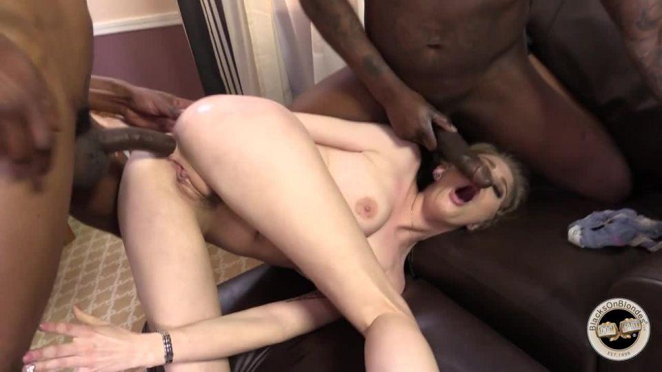 Gangbang Her Little White Thang 16 (Hush Hush / BlacksOnBlondes / DogFart) Screenshot 4