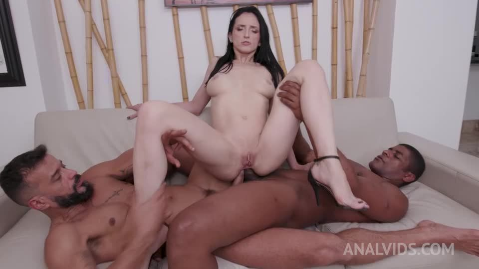 Brazilian milf gets her first DAP and DP with creampie ending YE117 (LegalPorno / AnalVids) Screenshot 8