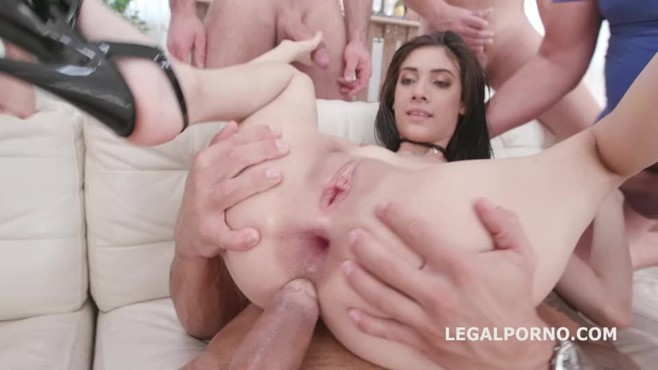 DAP Gangbang, Balls Deep Anal, DAP, TP, Gapes and Swallow (LegalPorno) Cover Image