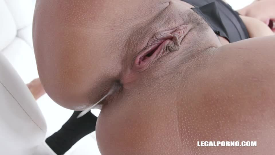 Enjoys anal fucking with 3 BBC (LegalPorno) Screenshot 8