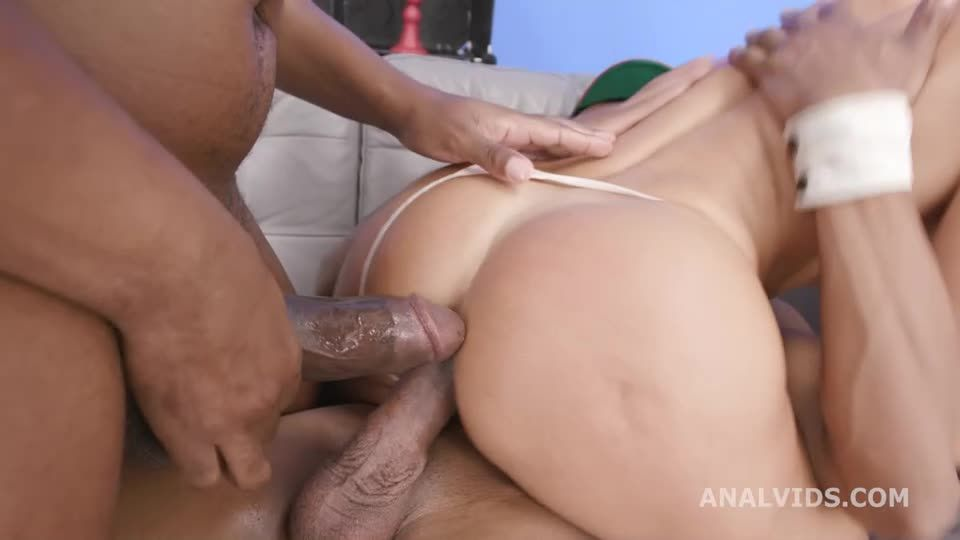 #BlackPeeMatters, 3 BBC for Balls Deep Anal, DAP, Big Gapes, Pee Drink and Swallow (LegalPorno) Screenshot 3
