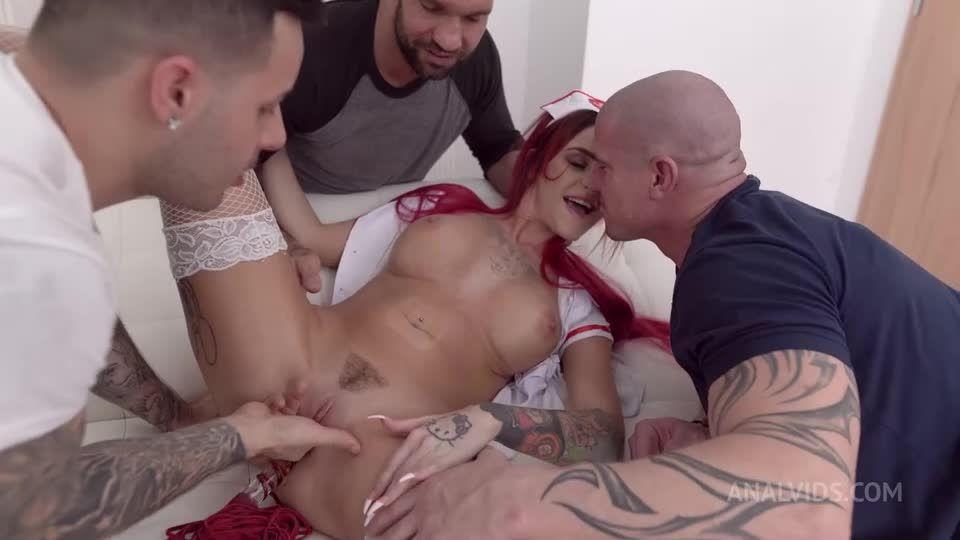 Nurse DAP fuck, Piss Drinking, Anal, Facial Cumshot NF065 (LegalPorno / AnalVids) Screenshot 1