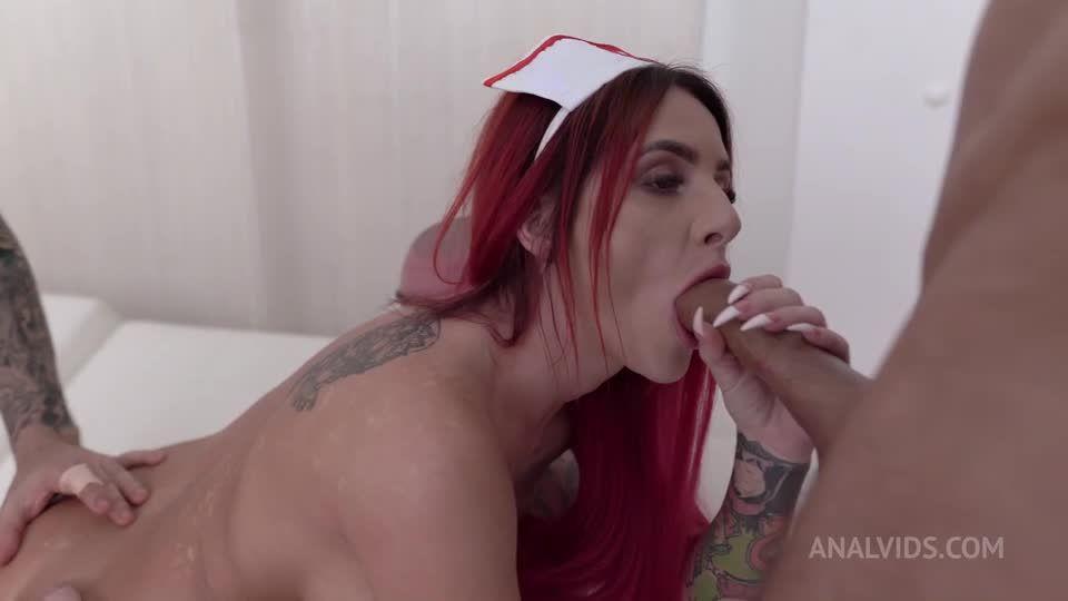Nurse DAP fuck, Piss Drinking, Anal, Facial Cumshot NF065 (LegalPorno / AnalVids) Screenshot 6