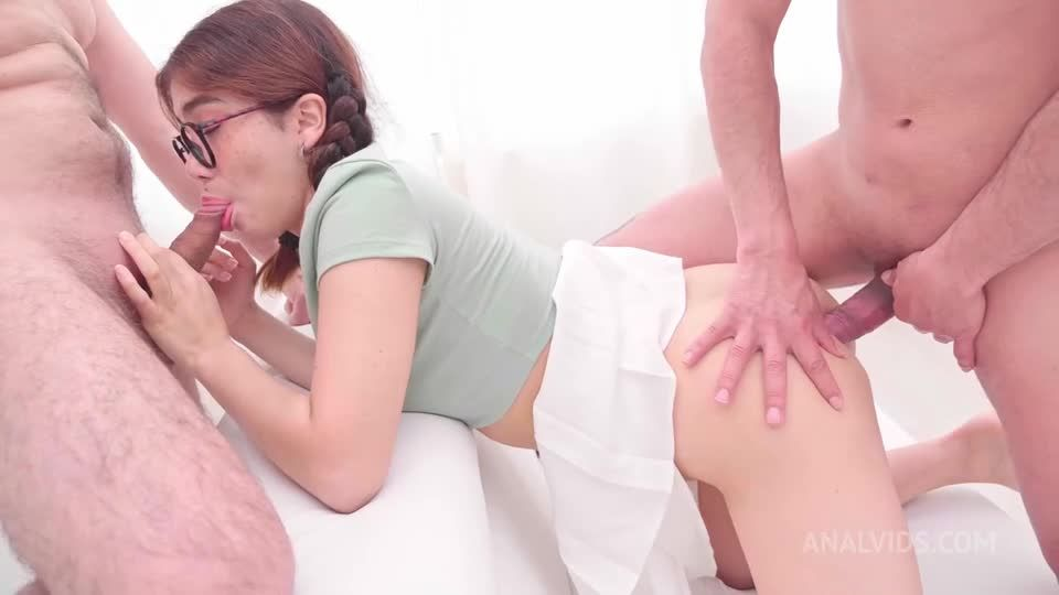 Cute Teen FIRST Anal Sex scene and Nasty Cumshots Swallowed MS117 (LegalPorno / AnalVids) Screenshot 3