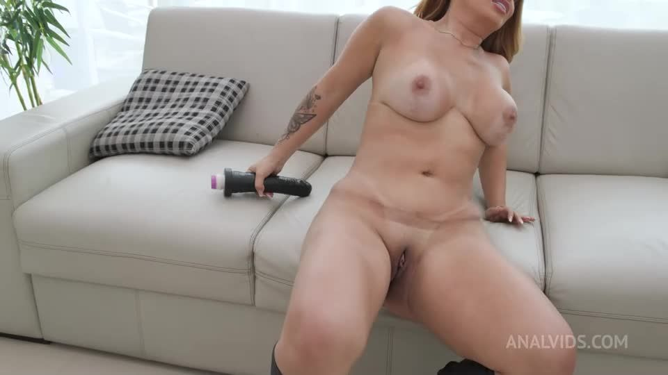 Huge butt latina slut getting fucked by 3 big cocks (LegalPorno / AnalVids / Yummy Estudio) Screenshot 1
