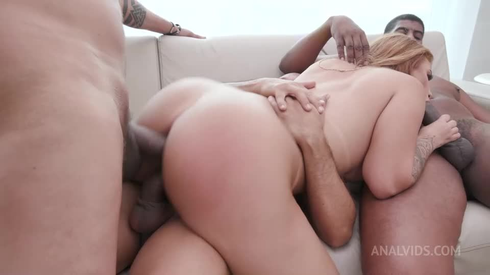 Huge butt latina slut getting fucked by 3 big cocks (LegalPorno / AnalVids / Yummy Estudio) Screenshot 8