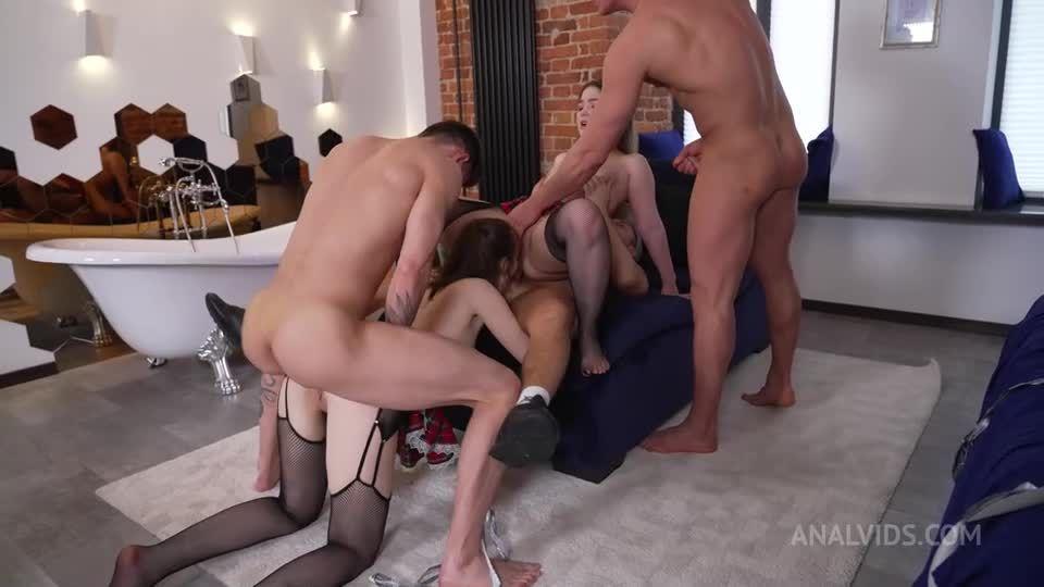 DAP, Fisting, Rough, Hard, Slapping, Spitting, Fucking, Bitches NRX122 (LegalPorno) Screenshot 4