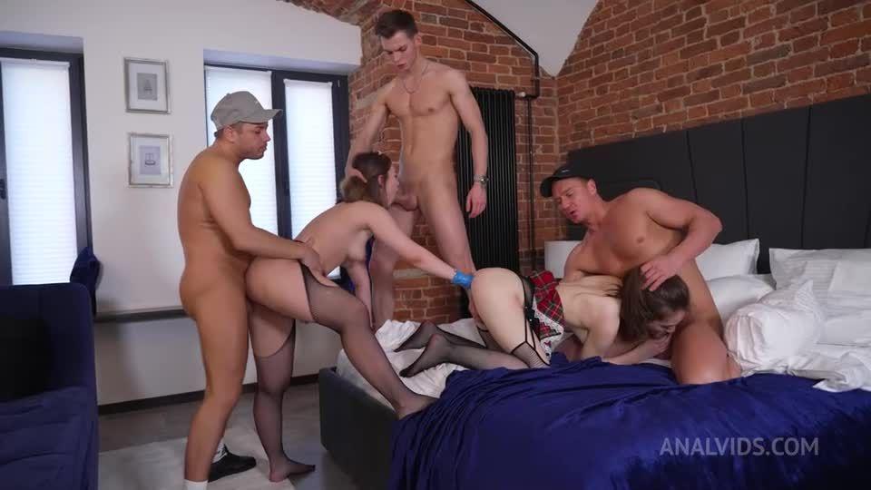 DAP, Fisting, Rough, Hard, Slapping, Spitting, Fucking, Bitches NRX122 (LegalPorno) Screenshot 6