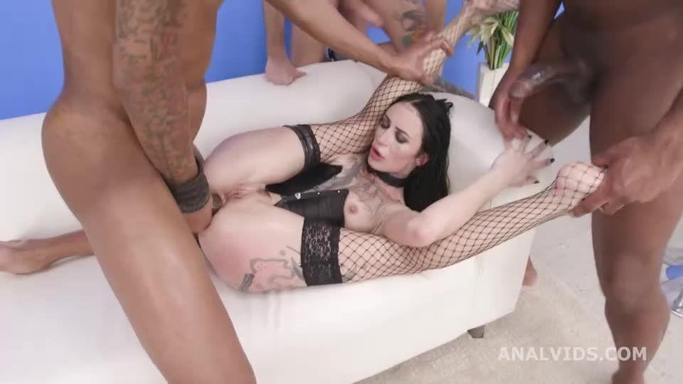 My first TP, Balls Deep Anal, DAP, Monster ButtRose, TP, Rough Sex and Swallow (LegalPorno / AnalVids) Screenshot 1