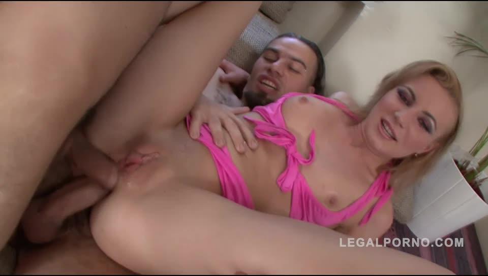 [Norestfortheass/LegalPorno] Double anal & creampie NR101 - Anastasia Miller (DAP)/(2M1F)