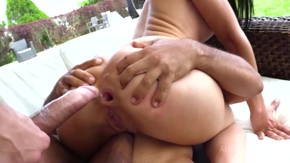 Her first pissing with hardcore DP NT062 (LegalPorno / AnalVids) Screenshot 3