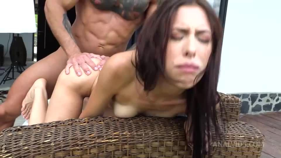 Her first pissing with hardcore DP NT062 (LegalPorno / AnalVids) Screenshot 7