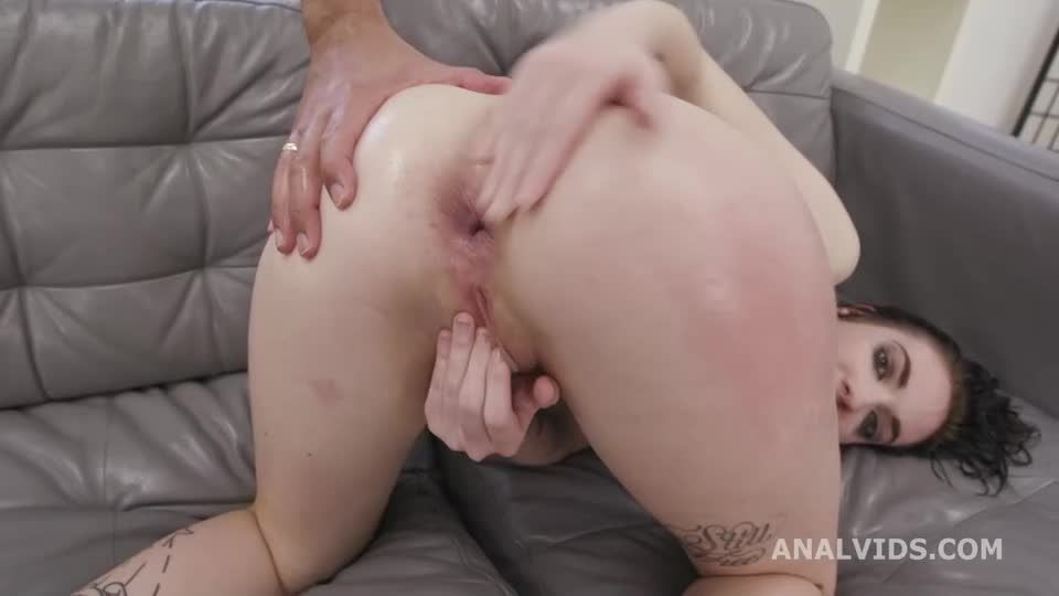DAP and Squirt, Gapes, ButtRose, Anal Fisting, Squirt Drinking and Swallow (LegalPorno) Screenshot 7