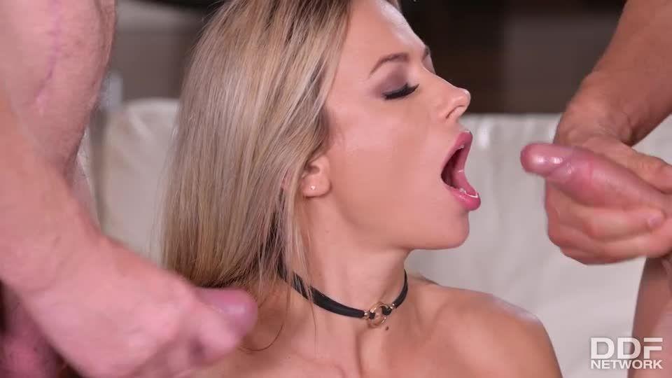 Amazing Romanian Slut Cums Like She's Never Cum Before In Epic DP (HandsOnHardcore / PornWorld) Screenshot 9