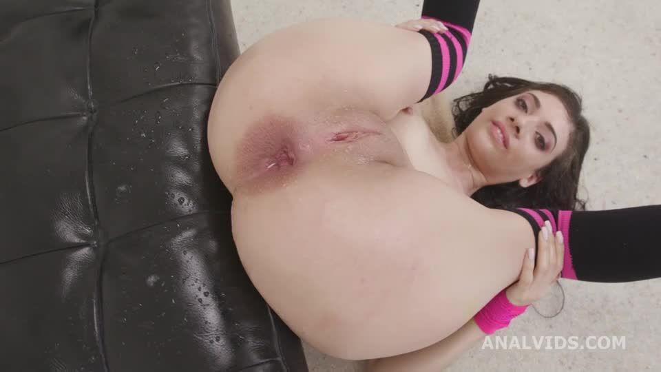 Fucking Wet, Balls Deep Anal, DAP, DP, Big Gapes, Almost ButtRose, Pee Drink, Squirt (LegalPorno / AnalVids) Screenshot 8