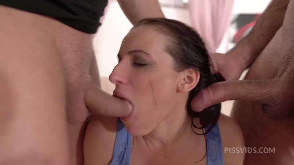 Dick Rider, BDSM DP piss Pee Deepthroat bondage facial cumshot NF126 (LegalPorno / AnalVids) Screenshot 6
