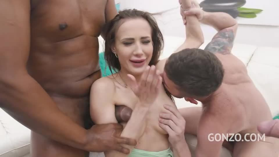 Goes straight to anal fucking with DP, DAP, DVP and Triple Penetration (LegalPorno) Screenshot 2