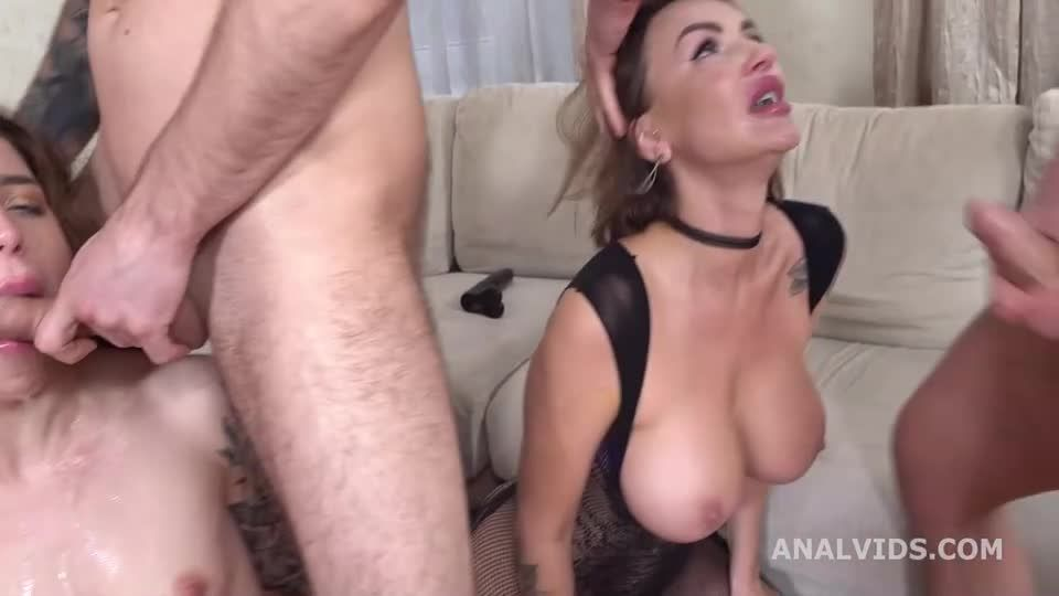 Wild Russia, Go Crazy with Balls Deep Anal, DAP, ButtRose, Squirting, Pee Drink (LegalPorno / AnalVids) Screenshot 1