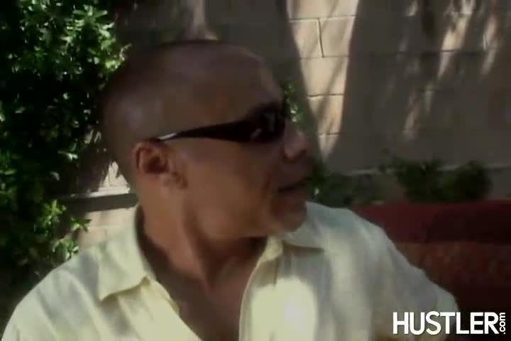 Big Black Meat in Little Blonde Treats (Hustler Video) Screenshot 9