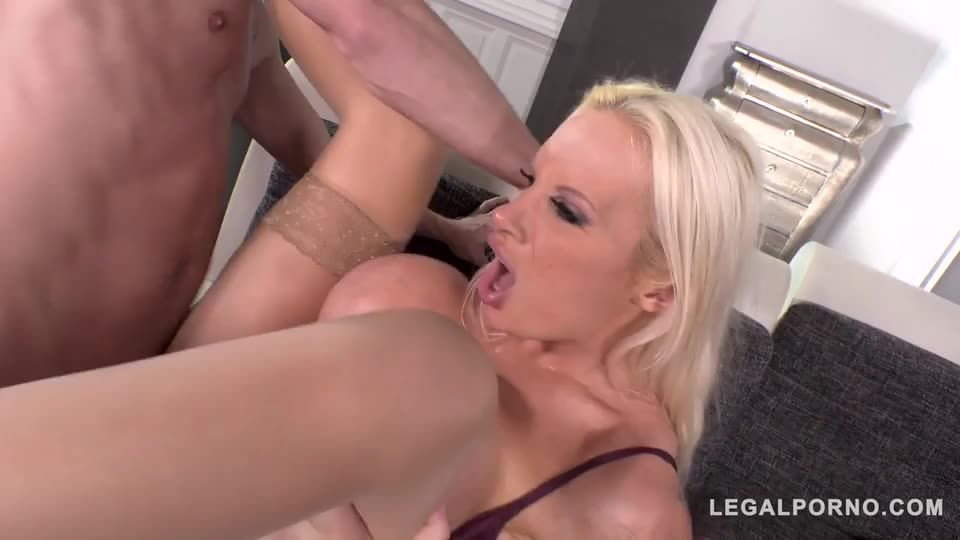 [LegalPorno] Busty Sex Crazed Milf gets her Tight Ass DAPed by 3 Cocks - Sophie Anderson (DAP)/(MILF)