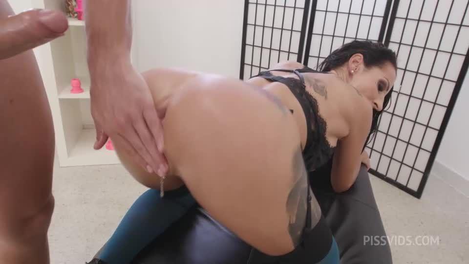 Monster of TAP goes Wet, Anal Fisting, DAP, TAP, Wrecked Ass, Monster ButtRose, Pee Drink, Facial (LegalPorno / AnalVids) Screenshot 5