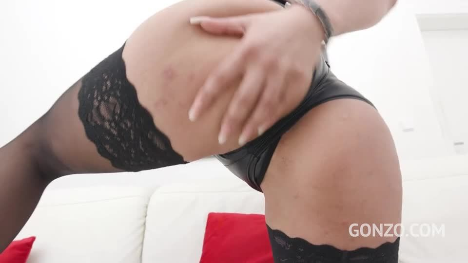 Returns to Gonzo for hot anal fuckign with intense DP and DAP (LegalPorno / AnalVids / Gonzo) Screenshot 0