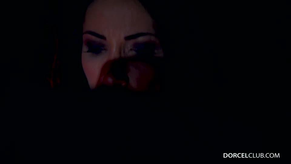 First gang bang for Clea Gaultier (DorcelClub) Screenshot 5