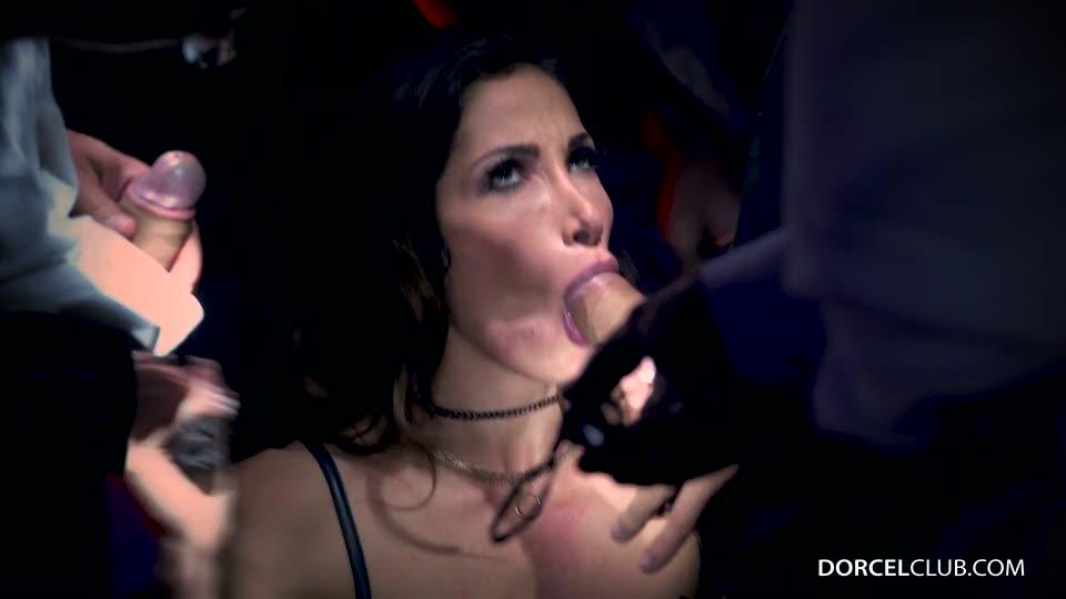 First gang bang for Clea Gaultier (DorcelClub) Screenshot 7