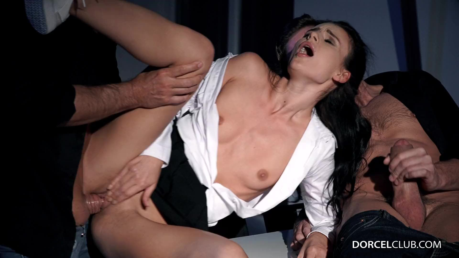 [DorcelClub] Caught In The Act - Kate Rich (DP)/(Brunette)