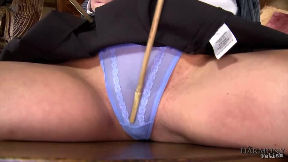 Filthy Schoolgirl Double Penetration (Harmonyfetish / Kink) Screenshot 0