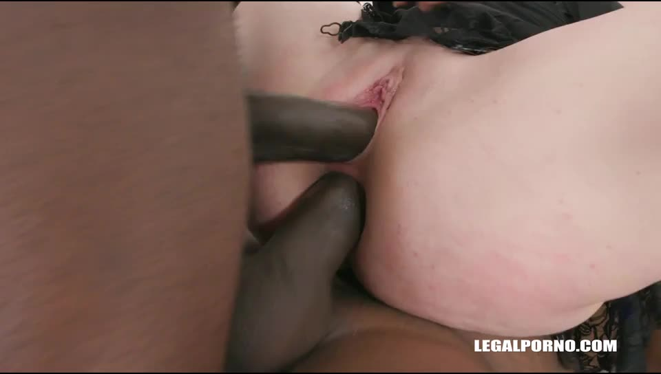 Young Stiffany Love enjoys anal sex first time with black guys (LegalPorno) Screenshot 6