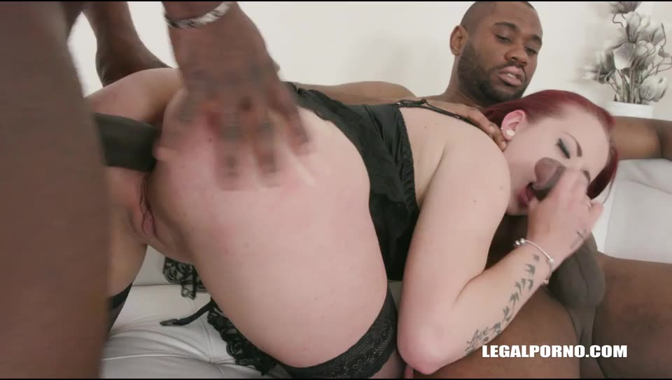 Young Stiffany Love enjoys anal sex first time with black guys (LegalPorno) Screenshot 7