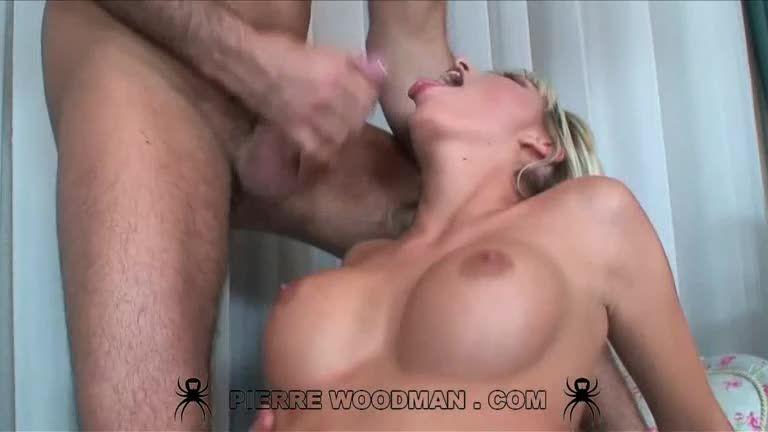 [WoodmanCastingX] Double Penentration - Stella Delcroix (DP)/(Blonde)