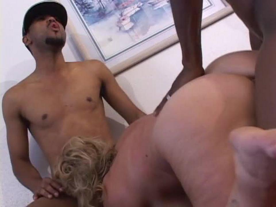 Chix Loving Black Dicks (Sticky Video) Screenshot 5