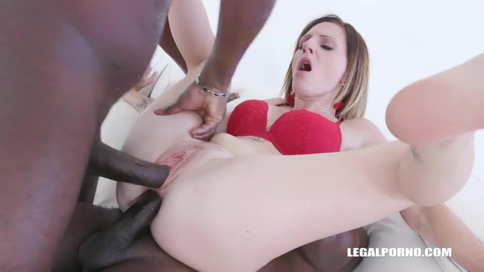 Keeps enjoying black cocks (LegalPorno) Screenshot 4