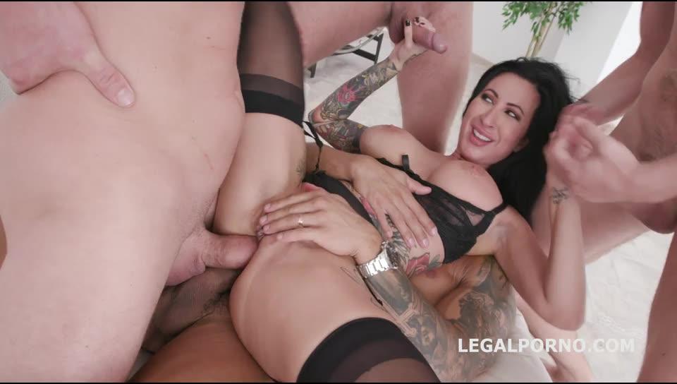 [LegalPorno] Facialized Balls Deep Anal, DAP, TP, Gapes & facial - Lily Lane (DAP)/(Big Tits)