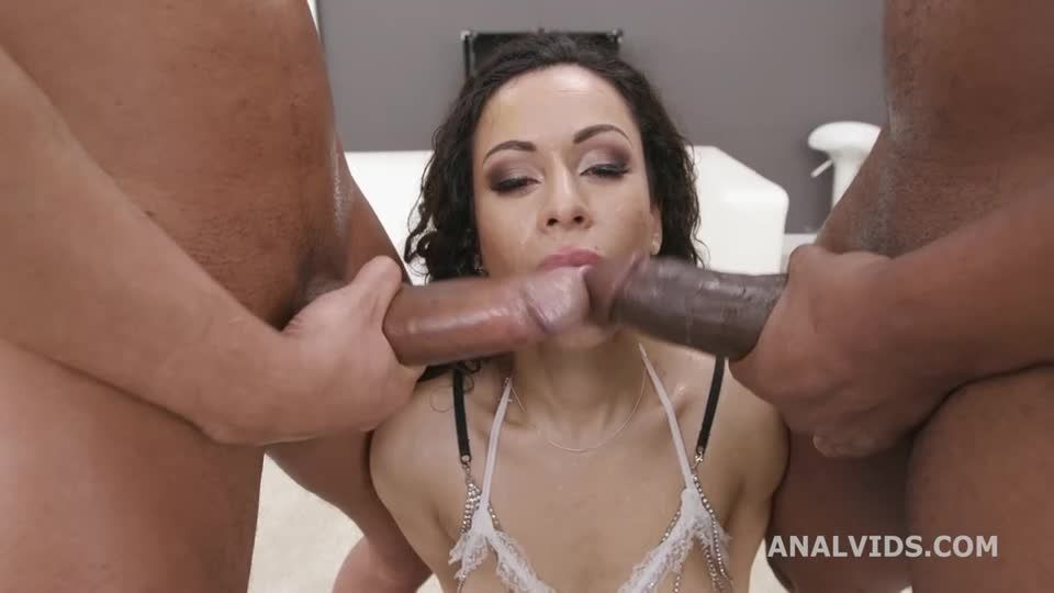 Black Pee, 2 BBC with Balls Deep Anal, Almost ButtRose, Pee Drink, Anal Fisting and Creampie Swallow (LegalPorno) Screenshot 2