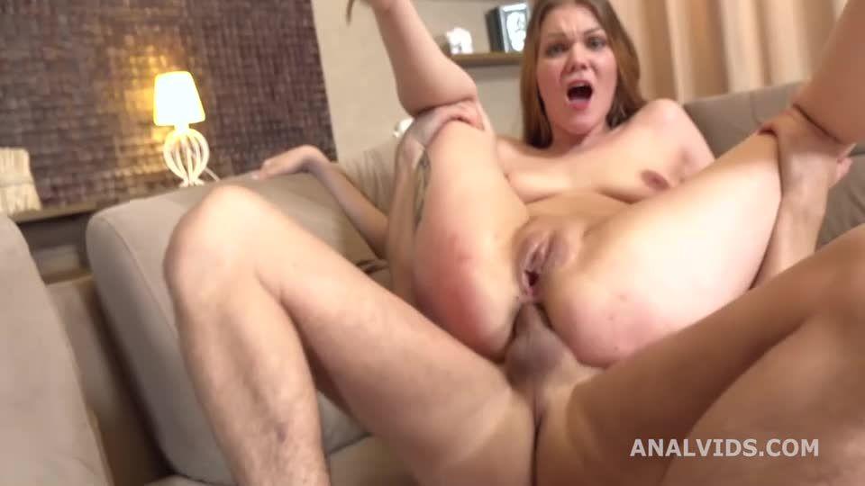 Balls Deep Anal, DP, Gapes, Rough Sex and Swallow (LegalPorno) Screenshot 8