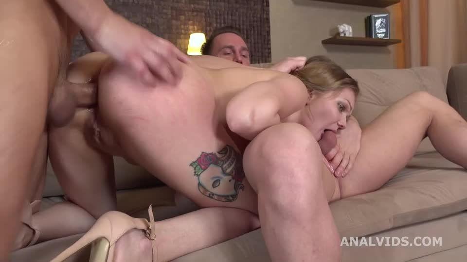 Balls Deep Anal, DP, Gapes, Rough Sex and Swallow (LegalPorno) Screenshot 9