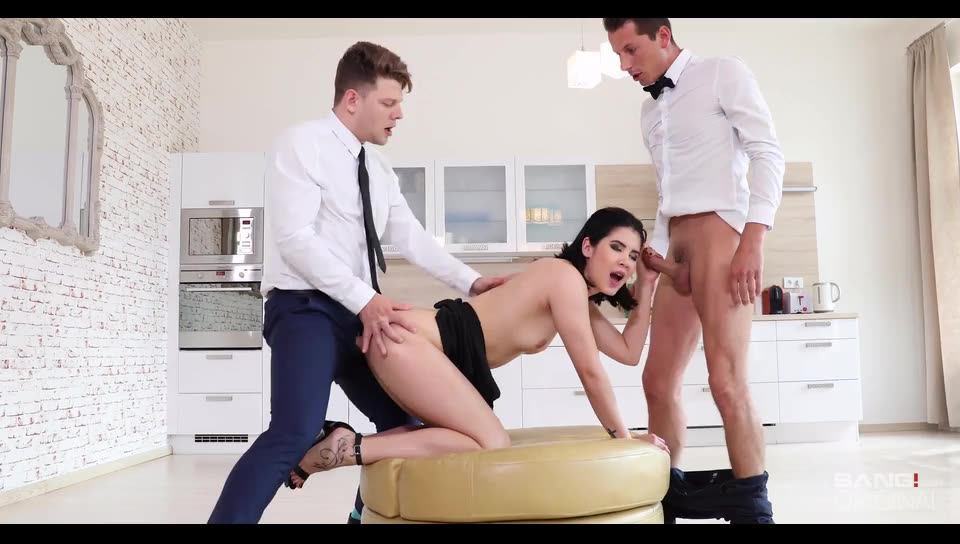 [Bang! Glamkore / Bang] Takes One Two Studs At Once In This Double Penetration Scene - Lady Dee (DP)/(2M1F)