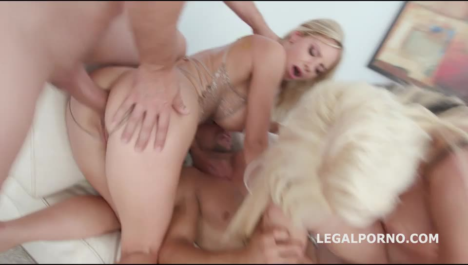 [LegalPorno] Just Beauty #2 Double Anal Battle with DAP, ATOGM, Anal Fisting, Messy cumshot - Natalie Cherie, Barbie Sins (DAP)/(High Heels)