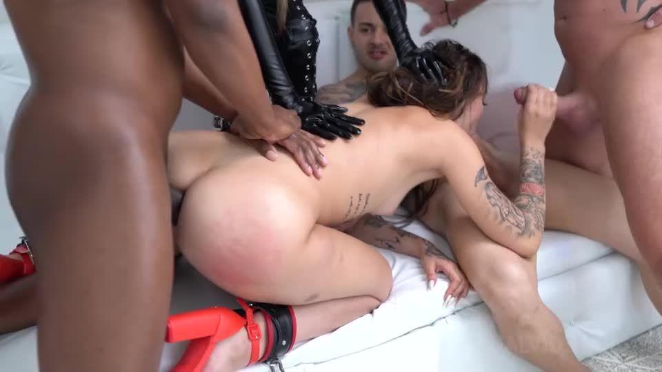 19 year old Rich Bitch DAP, Piss, Balls deep, Hard Fuck, Domination, Lesbian, Facial cumshot, Swallow NF (LegalPorno) Screenshot 3