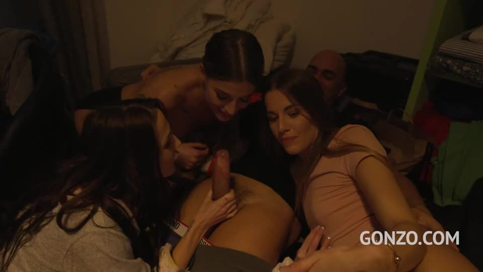 10 Versus 10 Anal Orgy – Drinks Included! SZ2590 – BTS (LegalPorno / Gonzo) Screenshot 1