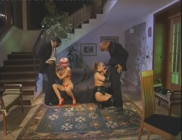 [ATV / H2 Video] Bourgeoise de Jour Chienne de Nuit / Euro Sluts 7: Italian Bitch - Claudia Rossi, Mandy Bright (DP)/(2M2F)