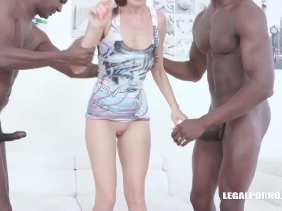 Back to enjoy black cocks (LegalPorno) Screenshot 2